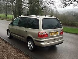 Ford Galaxy Ghia fully loaded, Sat nav fully leather very clean car