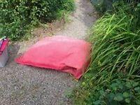 2 person garden bean bag - free to a good home