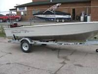 fishing boat 16 with motor trailer