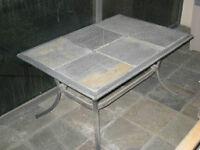 iorn / slate table