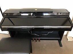 Yamaha Clavinova Digital upright piano CLP-230 with stool and original owner's manual