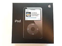 iPod 5th Gen - 80GB in original packaging