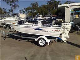 Wanted - Searching for a Quintrex/Stacer 2005+ Model with console Mildura Centre Mildura City Preview