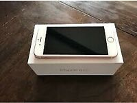 Fully working unlocked Rose gold iPhone 6S