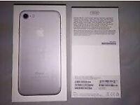 iPhone 7 huge 128 gb brand new in box unlocked