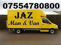 JAZ MAN AND VAN HIRE☎️REMOVALS SERVICES🚚CHEAP-MOVING-HOUSE-OFFICE-WASTE-CLEARANCE-RUBBISH-MOVERS
