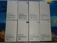 SAMSUNG GALAXY S6 32GB UNLOCKED BRAND NEW SEAL BOX TWO YEAR SAMSUNG WARRANTY & SHOP RECEIPT