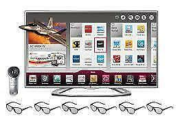 WOW TV LG 55'' SMART 3D + 4 LUNETTES GRATUITES+REMOTE MAGIC