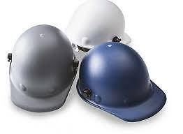FIBRE-METAL BY HONEYWELL Hard Hat,Front Brim,G,Ratchet