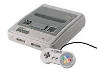 wanted Nintendo nes and snes