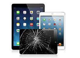 iPad Screen Repairs, All models & All Types of Faults Incl; iPad Air 2, iPad Mini 2, iPad 2, iPad 4