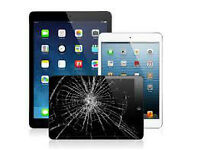 Apple iPad Screen Repair Service, 1yr Guarantee All models Incl: iPad Air, Mini 2, iPad 2, 3,4 etc