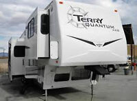 2006 Terry Quantum 365 Fifth Wheel With 4 Slide Outs