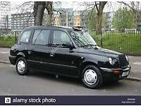 glasgow black cab for rent looking for driver single shift