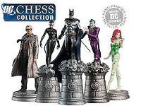 DC Comics chess set - Complete