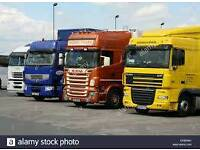 HGV Class 1 Drivers x 2 available for work