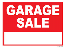 Indoor Garage Sale Sunday March  26th - ST. Thomas