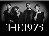 The 1975 concert tickets at the O2 arena on Friday 16th December 2016