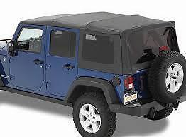 4 Door Jeep Wrangler Soft Top 2008-2016