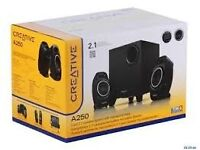 Creative A250 2.1 Compact Speaker System with Sub Woofer