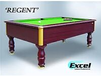 Fully Re-furbished Slate Bed Pool Table - Logo Cloth Option - Delivery & Install Available !!LOOK!!