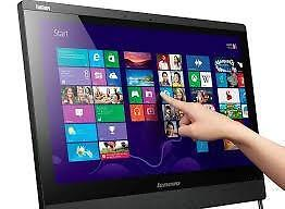 """All in One IBM/Lenovo 23"""" Win 10 Touch Screen 3rd Gen Intel i5 Quad Core 8GB Ram 500GB Hard USB 3 WiFi Webcam $499 Only"""
