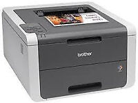 NEW COLOUR LASER PRINTER - BROTHER HL3140 - WIRELESS - HIGH SPEED LOW COST PRINTING - LAPTOP - PC