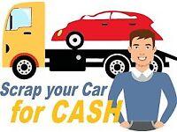WE BUY VANS CARS TRUCK CASH PAID SCRAP MOTORS WANTED DAMAGED NON RUNNER NO LOG BOOK NO KEYS DVLA ELV