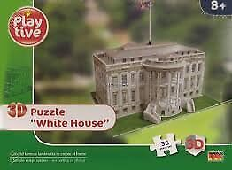 2 x NEW sealed 3 D puzzle, Statue of Liberty and White House