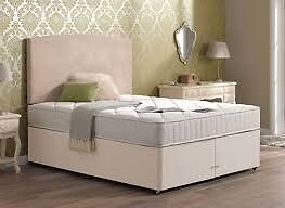 Two singles/one double divan bed base
