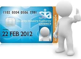Security Industry Authority (SIA) Training Courses Available