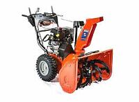 FREE PICKUP OF YOUR UNWANTED SNOWBLOWER