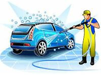 Hand Car Wash Staff