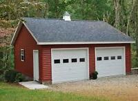 Garages, Sheds, Outbuildings Built for reasonable rate