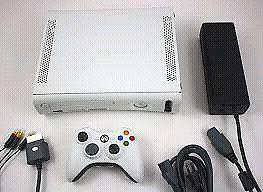 CONSOLE XBOX 360 AVEC LES ACCESSOIRES