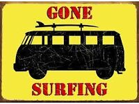 Surfing, Kitesurfing, Stand Up Paddle & Windsurfing