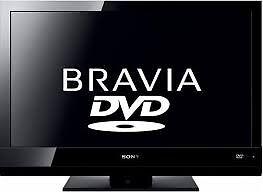 Sony BRAVIA LCD TV with DVD Model: KDL-22BX20D