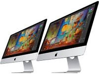Apple iMac Wanted. 2012-Onwards. We buy all iMacs new, faulty, used, spares or repairs broken