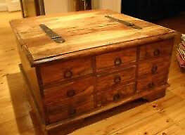 stunning 9 drawer trunk coffee table[£65 if collected asap]