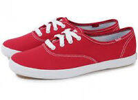 Chaussure keds rouge soulier