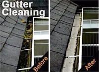 EAVES TROUGH/GUTTER CLEANING AND REPAIR TEAM