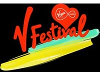V Festival Ticket, Chelmsford, 20th -21st August