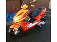 yamaha aerox yq100 scooter moped motorbike bargain