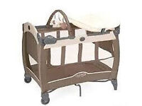 Graco baby travel cot