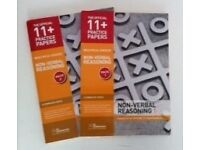 11+ Study Aid, GL Assessment Non-Verbal Reasoning books 1 and 2