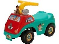 Disney Jake and The Never Land Pirates Ride-on. Brand New - Never been opened