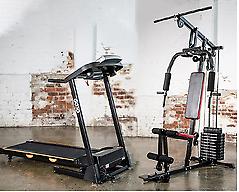 Home Gym & Treadmill Cardio Package
