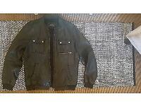River Island Leather Jacket Size L