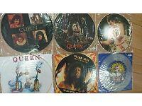 QUEEN PICTURE 6 DISCS