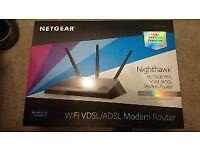 Netgear d7000 nighthawk asdl router